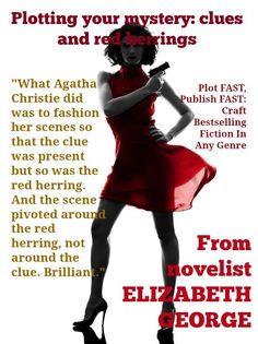 Plotting a Novel: Clues and Red Herrings http://www.justwriteabook.com/blog/write-a-novel/plotting-novel-clues-red-herrings/