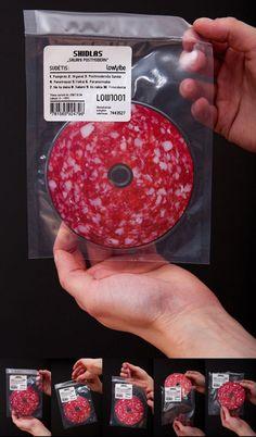 """cd de Shidlas, leur nouvel album """"Saliami Postmodern"""""""