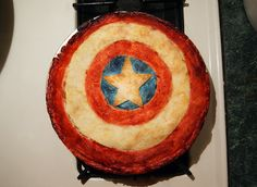 Captain America: apple pie