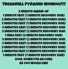 Monday Matters and a KILLER treadmill workout!