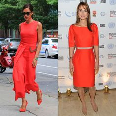 A Poppy, Bright Orange Dress