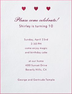Admit One by Hannah Berman for Paperless Post Online invitations