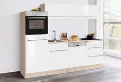 Held Möbel Küchenzeile mit E-Geräten »Samos«, Breite 160 cm Jetzt ...