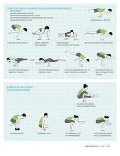 A few of over 150 yoga poses I illustrated for Jason Crandell yoga