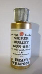 Silver Bullet Gun Oil - Heavy Weapons