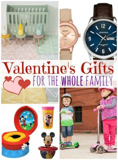 Valentine's Day Gift Ideas for the Whole Family via @amomstake