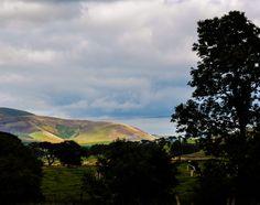 Scenery around the Scottish Borders town of Biggar.
