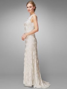 Phase Eight Clemence Wedding Dress, Ivory  from globaltextiles.com