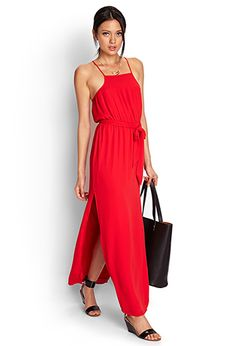 Pleated Moment Maxi Dress | FOREVER21 - 2000061622
