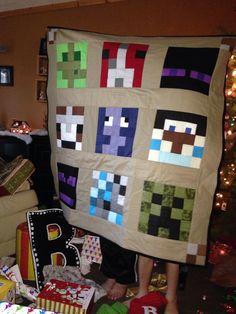 Minecraft Creeper Pillow Cushion Grandsons Pinterest - Minecraft hauser im berg