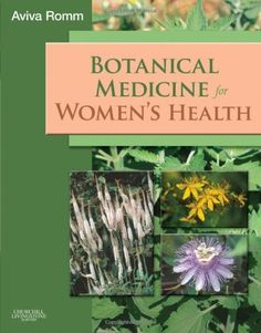 This is my favorite books on herbs for the female reproductive system - Botanical Medicine for Women's Health, 1e by Aviva Romm. $50.98. Edition - 1. Publisher: Churchill Livingstone; 1 edition (May 5, 2009). Publication: May 5, 2009