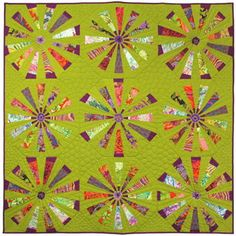 circling kaffe quilt with nancy geddis