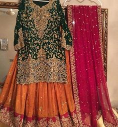 Outstanding boho dresses are available on our website. Check it out and you wont be sorry you did. Pakistani Mehndi Dress, Bridal Mehndi Dresses, Asian Wedding Dress, Pakistani Wedding Outfits, Pakistani Bridal Dresses, Pakistani Wedding Dresses, Pakistani Dress Design, Bridal Outfits, Indian Dresses