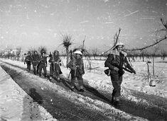 Maori Battalion in Italy, winter 1945 Nz History, History Online, Today In History, Family History, Italy Winter, Italian Campaign, Maori People, New Zealand Houses, Ww2 Photos