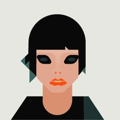 Alice Glass by Surplus. I find it unsettling.