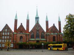 Das Heiligen-Geist-Hospital in der Lübecker Altstadt.(24.10.2009)