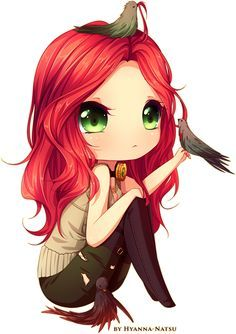 anime chicks with red hair - Google Search