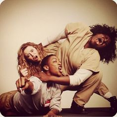 "Orange is the New Black:  Nicky Nichols, Poussey Washington, and Tasha ""Taystee"" Jefferson"
