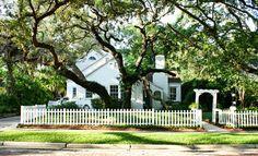 1940's home in the Bayshore Beautiful neighborhood of Tampa, Florida.