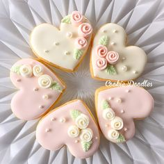 Heart cookies for the wedding gift maybe.