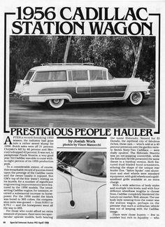 1956 Cadillac Custom View Master station wagon ~ Hess and Eisenhardt-built