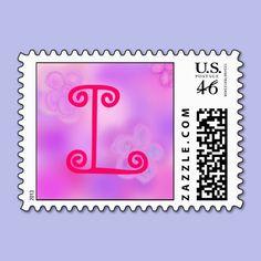 Letter L Monogram Stamp   #LetterL