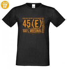 T-Shirt zum Geburtstag - Ich bin nicht 50 - Lustiges Sprücheshirt  Motivshirt als Geschenk