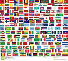 Bandeira de todos os 193 países do mundo Bandeiras De Todos Os Países dc56dd2fa5f04