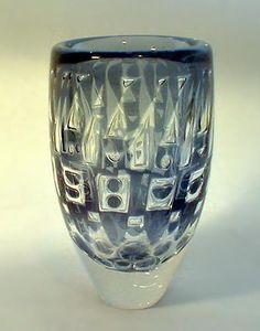 Ingeborg Lundin for Orrefors, 1962 Wine Glass, Glass Art, Kosta Boda, Glass House, Colored Glass, Scandinavian, Pottery, Vase, Antiques