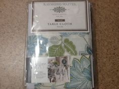 Raymond Waites 70 Inch Round Tablecloth 100% Cotton Machine Washable  #RaymondWaites