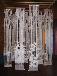 Bobbin lace forrest. 28th congress German lace association. Hindelang 2010