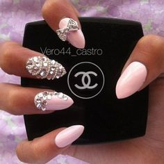 diamante nails - Google Search