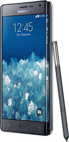 Samsung Galaxy Note Edge Smartphone (14,2 cm (5,6 Zoll) Super-AMOLED-Display, 2,7GHz Quad-Core Prozessor, 32 GB interner Speicher, 16 Megapixel-Kamera, Android 4.4) charcoal black