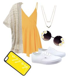 Summer outfit by jennisa-penner on Polyvore featuring polyvore, fashion, style, Glamorous, Victoria's Secret, Vans, Michael Kors, CellPowerCases, women's clothing, women's fashion, women, female, woman, misses and juniors