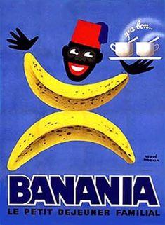 ¤ Hervé Morvan, Banania, le petit déjeuner familial 1957