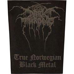 Darkthrone- True Norwegian Black Metal Sewn Edge Back Patch (bp12)
