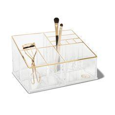 Sonia Kashuk Countertop Makeup Tray Organizer Clear Maquiagem Decoracao Compras