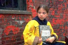 Harriet the Spy. Such a great movie. Yep I wanted to be her, I bought the notebook and everything lol