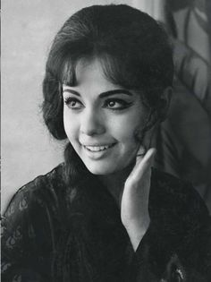 Stunning #Mumtaz/Her stubby nose was stunningly bewitching.