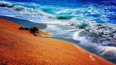 Morze, Brzeg, Plaża, Piasek