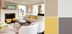 Ideas for Living Room Colors: Paint Palettes and Color Schemes   Home Tree Atlas