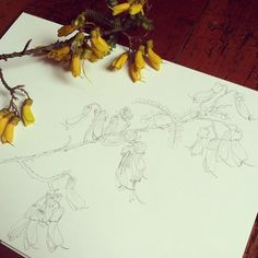 100/100! Kowhai — 100 Days Project Painting Flowers, 100th Day, Flower Tattoos, Journal Ideas, Tattoo Inspiration, Tatting, Piercings, Art Ideas, Flora