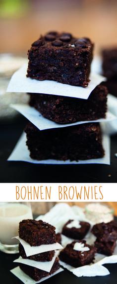 vegane Bohnen brownies