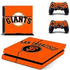 San Francisco Giants MLB PS4 Skin