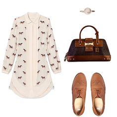 A cute and polished look with Dior  http://bobags.com.br/aluguel-de-bolsas/street-chic-pyramid-bag-jeans-by-dior.html #adorobobags #dior #bagrental #alugueldebolsas