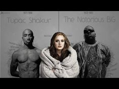 YouTube Adele - Hello (remix) feat. The Notorious BIG and Tupac