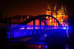 """fot.Katarzyna Bilska: """"Widok na katedrę Poznańską od tyłu, jedno z piękniejszych miejsc w Poznaniu, kiedy mam fatalny humor jadę tam siadam na brzegu rzeki i napawam się na widok"""". https://www.facebook.com/photo.php?fbid=10151982555642893&set=a.392564567892.167471.376101312892&type=1&stream_ref=10"""