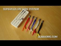 Superflex DIY fishing lure making system intoduction part 1 - YouTube
