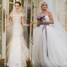 Bride wars Vera Wang dresses