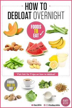 How to debloat in 24 hours, stop bloating, and get rid of bloating while it's th. - How to debloat in 24 hours, stop bloating, and get rid of bloating while it's that time of the mo - Foods To Reduce Bloating, How To Stop Bloating, Help With Bloating, Anti Bloating, Getting Rid Of Bloating, Foods That Cause Bloating, What Helps Bloating, Foods That Bloat, Herbs